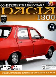 Macheta auto Dacia 1300 KIT Nr.36 - elemente coloana directie, scara 1:8 Eaglemoss
