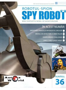 Colectia Spy Robot Nr 36 Kit de asamblat, Eaglemoss