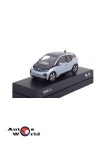 Macheta auto BMW i3 2014 gri ionic, 1:43 Paragon
