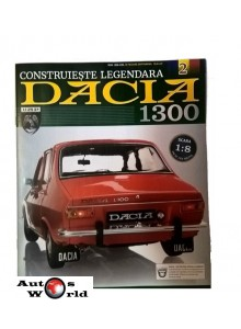 Macheta auto Dacia 1300 KIT Nr.2, scara 1:8 Eaglemoss