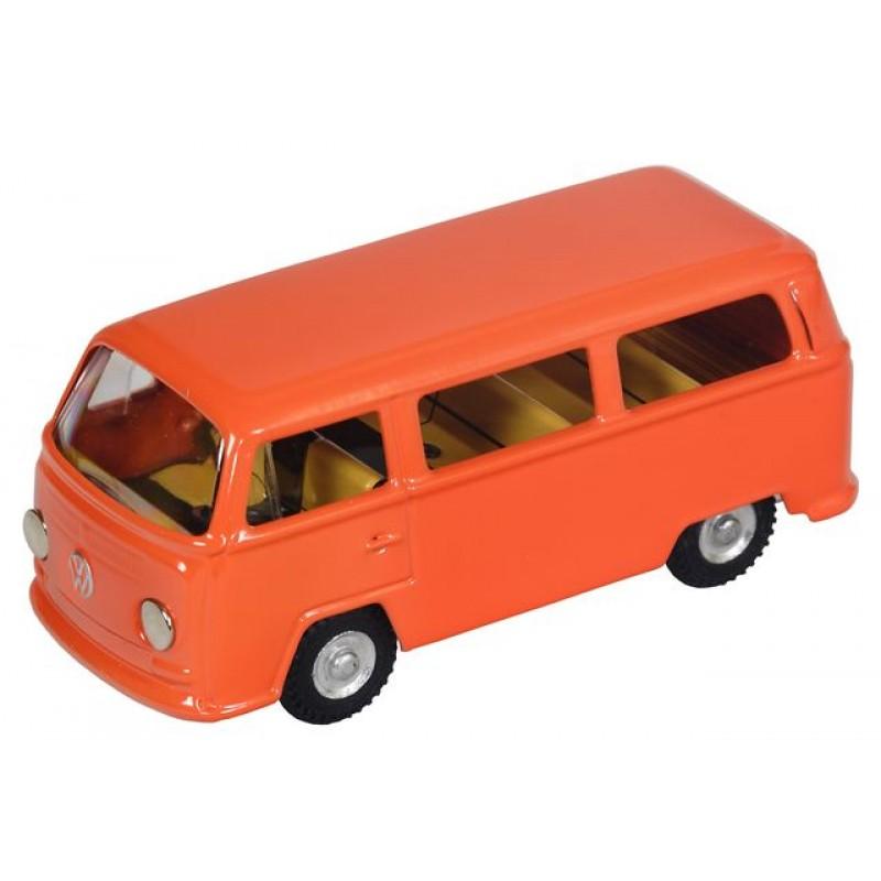 Volkswagen T2 Minibus - portocaliu, 1:43 Kovap
