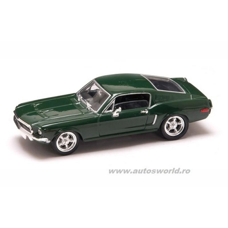 Ford Mustang GT Bullitt verde 1968, 1:43 Lucky Diecast