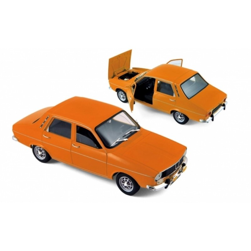 Macheta auto Renault 12 TS orange, 1:18 Norev