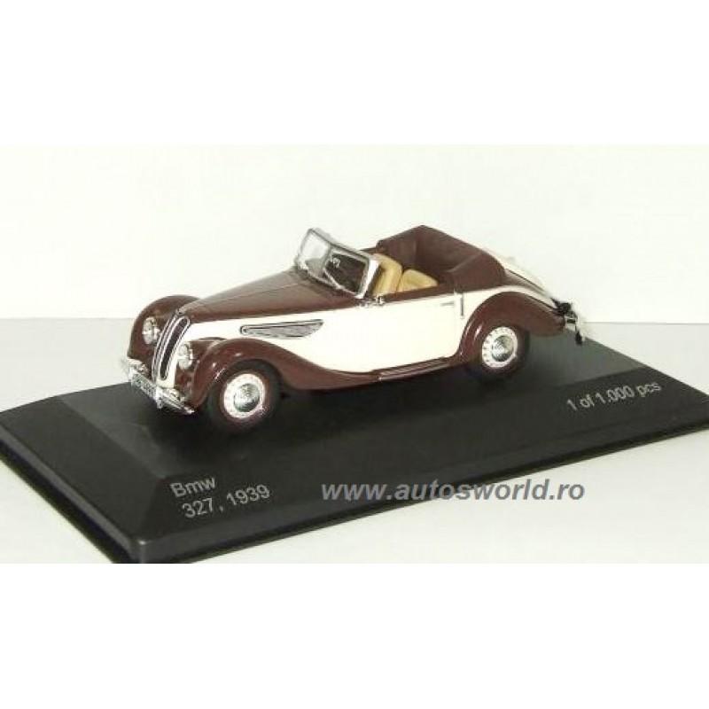 BMW 327 Cabriolet maro/bej, 1:43 Whitebox