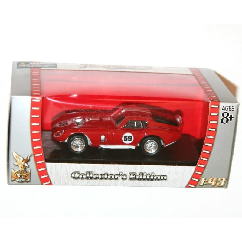 Ford Shelby Cobra Daytona coupe #59 rosu, 1:43 Yatming