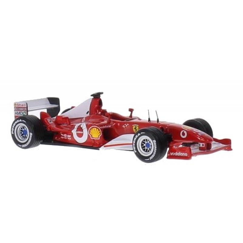 Macheta auto Ferrari F2003-GA, No.1 M.Schumacher, 1:43 Ixo