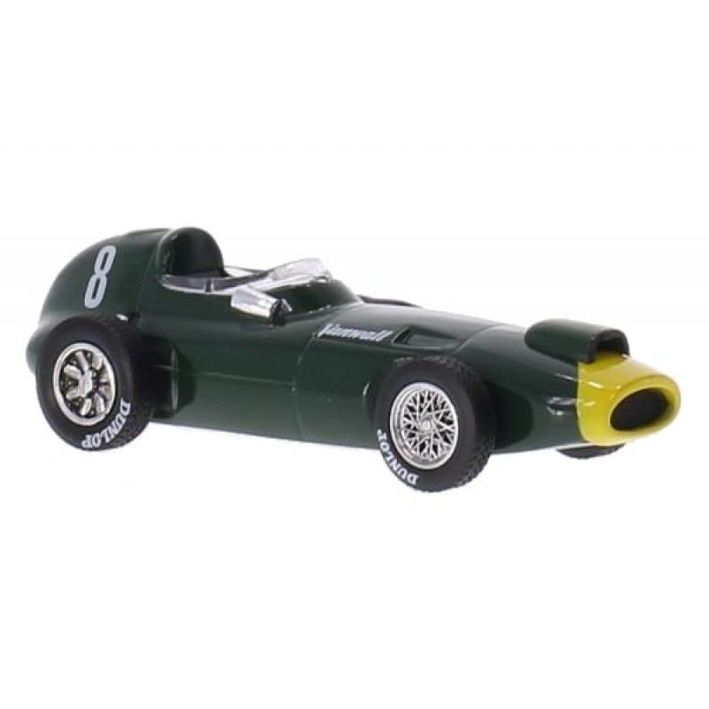 Macheta auto Vanwall VW57, No.8 S.Moss, 1:43, 1:43 Ixo