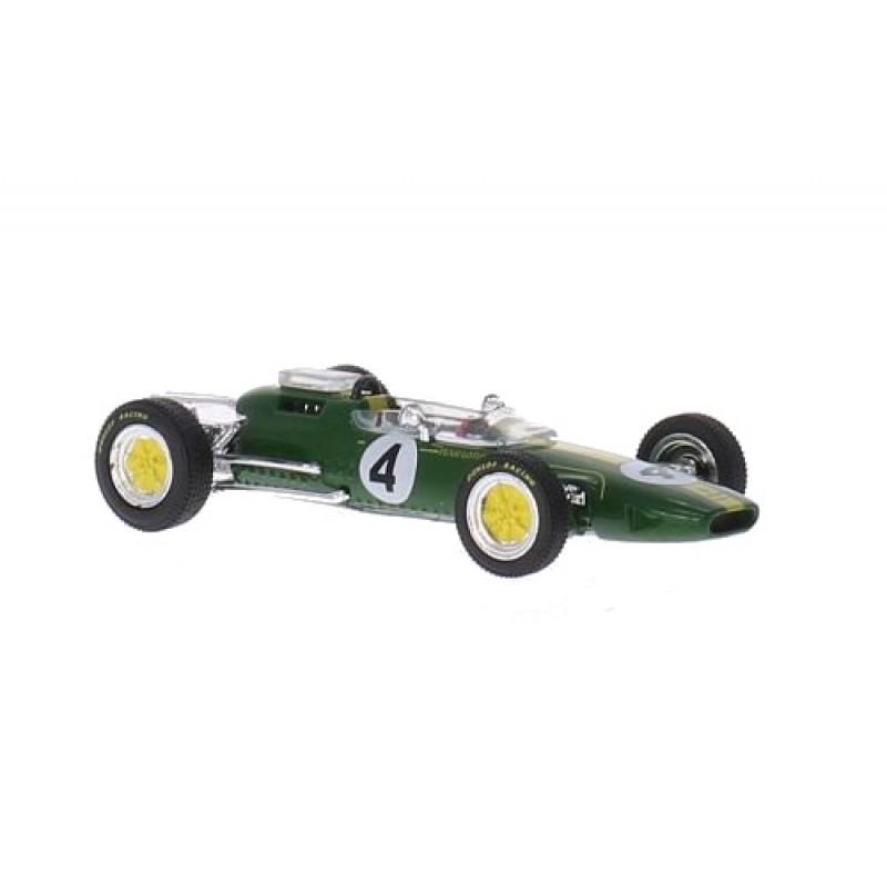Macheta auto Lotus 25, No.4, J.Clark, 1:43 Ixo