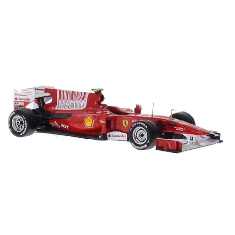 Macheta auto Ferrari F10, No.8, F.Alonso, 1:43 Ixo