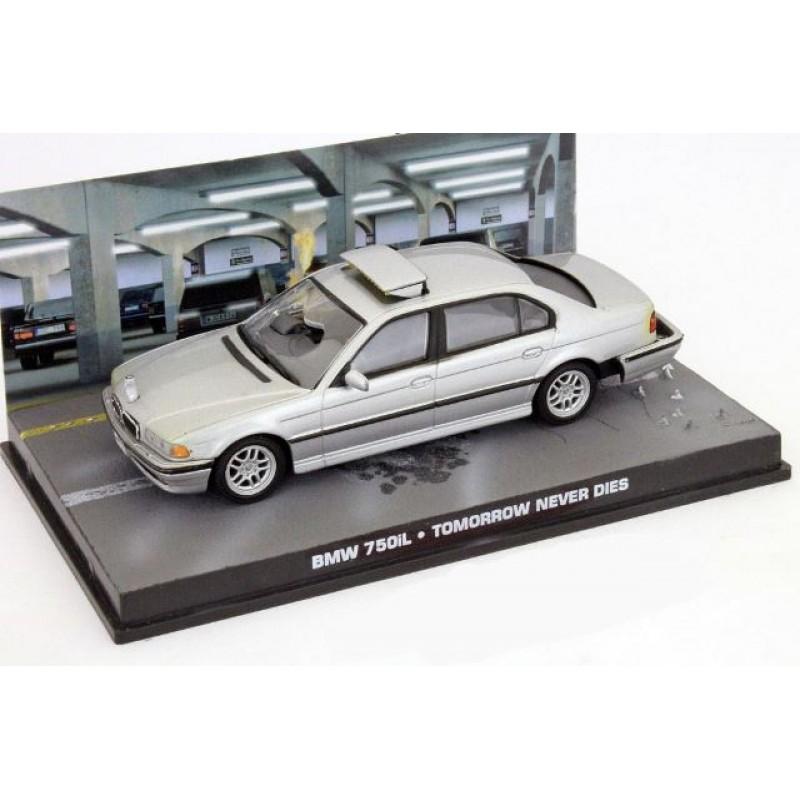 BMW 750i James Bond gri, 1:43 Eaglemoss