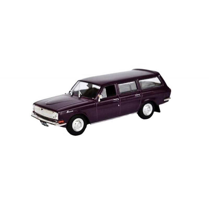 GAZ Volga 24-02 Universal- Kultoweauta PL, 1:43 Deagostini/IST