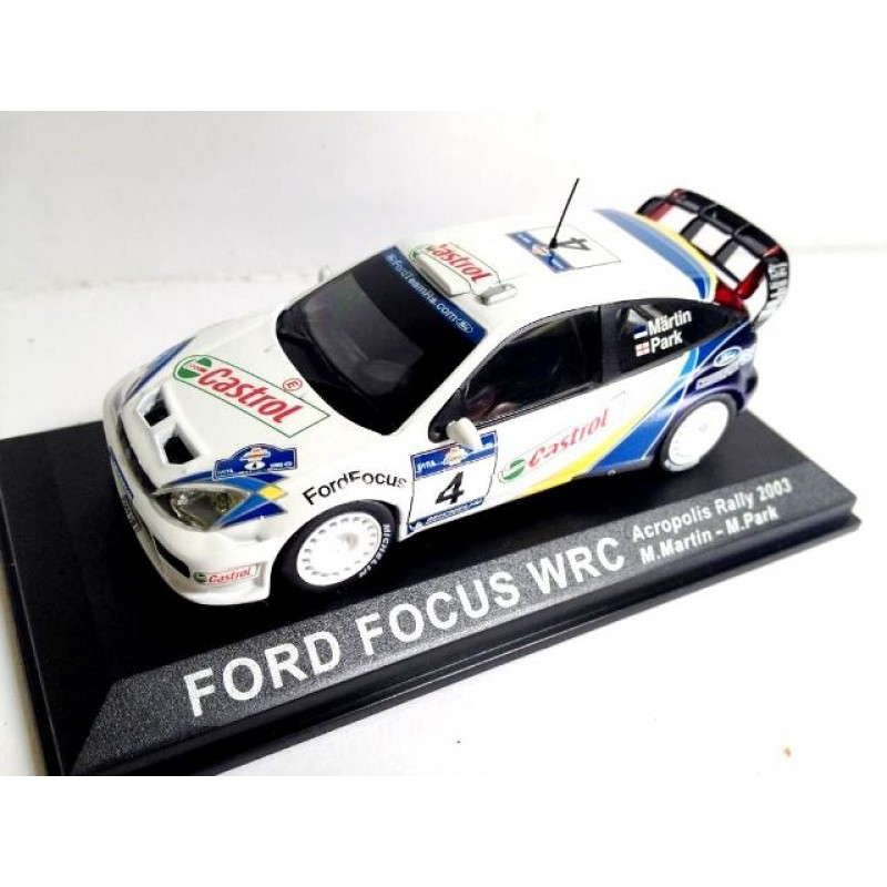 Ford Focus WRC Acropolis Rally, 1:43 Ixo