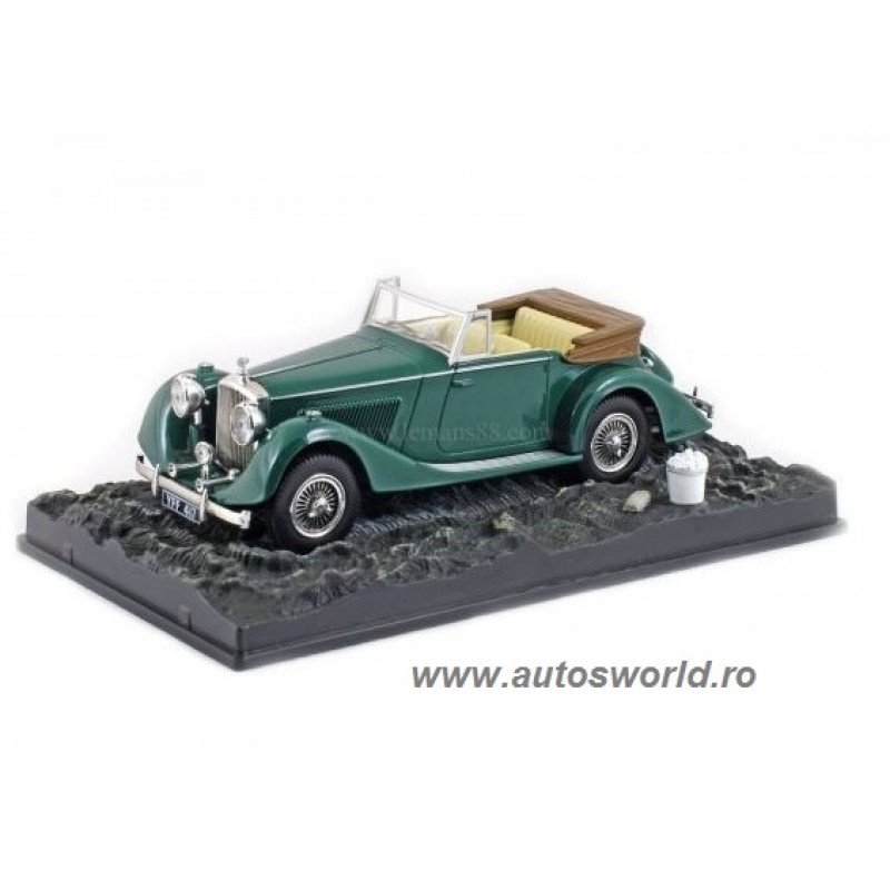 Bentley 4 1/4 Litre James Bond, 1:43 Eaglemoss