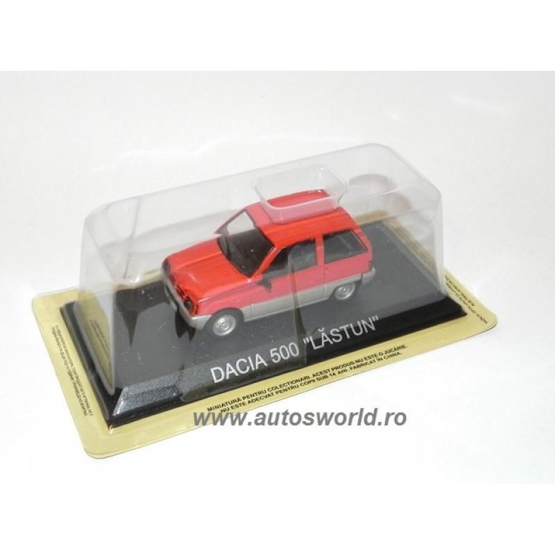 Dacia 500 Lastun - Masini de Legenda RO, 1:43 Deagostini/IST