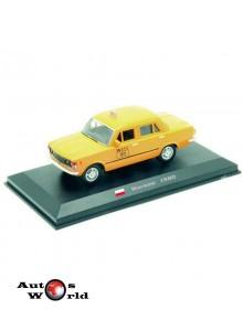 Taxiuri din lumea toata nr.4 - Fiat 125 P - Varsovia 1980, 1:43 Amercom