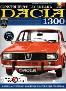 Macheta auto Dacia 1300 KIT Nr.13 - punte spate, scara 1:8 Eaglemoss