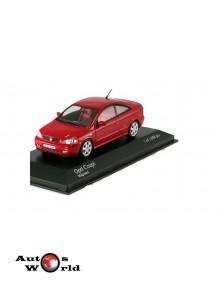 Macheta auto Opel Astra coupe 2000 rosu, 1:43 Minichamps