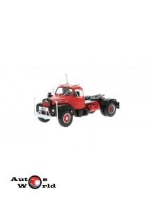Macheta camion Mack B 61 rosu 1953, 1:43 Ixo