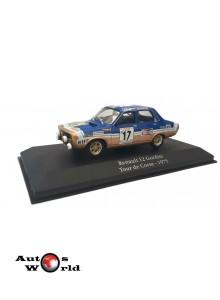 Macheta auto Renault 12 Gordini #17, Tour de Corse 1975, 1:43 Atlas ...