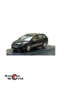 Macheta auto Volkswagen Golf VII Variant negru 2012, 1:43 Schuco