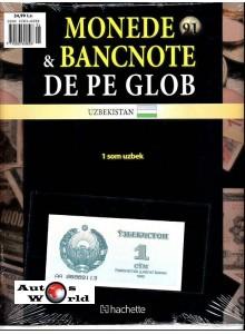 Monede Si Bancnote De Pe Glob Nr.91 - 1 som uzbek , Hachette