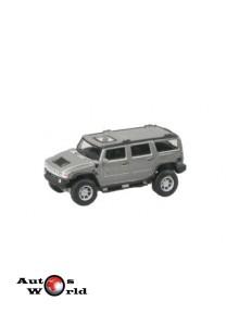 Macheta auto Hummer H2 gri, 1:72 Cararama