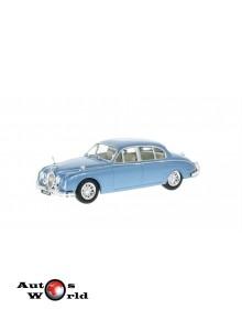 Macheta auto Jaguar MK II albastru 1960, 1:43 Whitebox