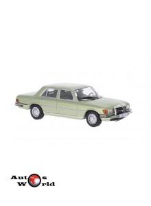 Macheta auto Mercedes Benz 450 SEL (W116), 1975, 1:43 Whitebox