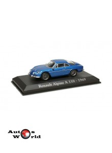 Macheta auto Alpine Renault A110 1969, 1:43 Ixo