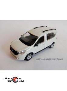 Dacia Dokker - alb, 1:43 KFT