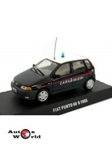 Macheta auto Fiat Punto 60S Carabinieri 1995, 1:43 Deagostini