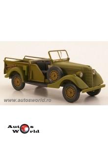 GAZ 61-417 verde mat decapotabil , 1:43 Nash Avtoprom