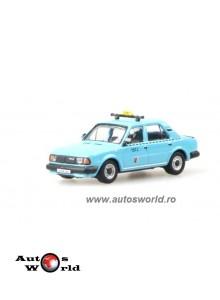 Skoda 120L Taxi albastru, 1:72 Abrex