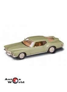 Buick Riviera GS 1971 verde, 1:43 Lucky Diecast