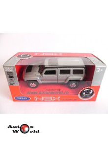 Hummer H3, 1:36 Welly