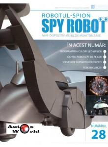 Colectia Spy Robot Nr 28 Kit de asamblat, Eaglemoss