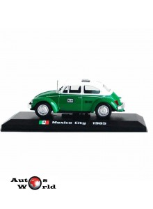 Taxiuri din lumea toata nr.5 - Volkswagen Beetle - Mexico City 1985, 1:43 Amercom