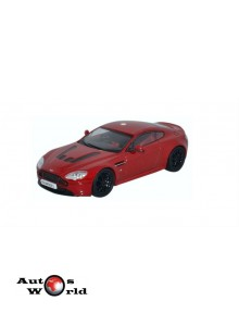Macheta auto Aston Martin V12 Vantage rosu, 1:43 Welly