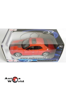 Dodge Challenger SRT8 2008 - orange, 1:24 Maisto