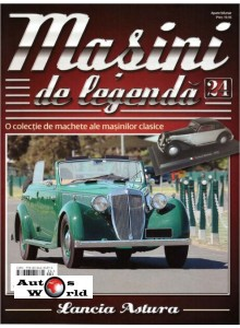 Masini De Legenda Nr.24 - Macheta auto Lancia Astura 1935, 1:43 Amercom ...