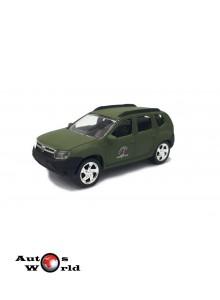 Macheta auto Dacia Duster Armata 3 inch, 1:56 Norev