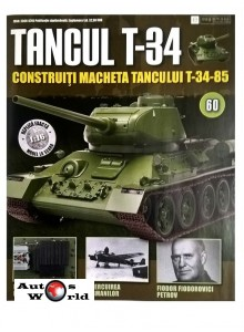 Colectia Tancul Т-34 Nr.60, 1:16 macheta kit de asamblat, Eaglemoss