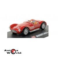 Macheta auto Maserati A6GCS #525 rosu 1954 Mille Miglia ...