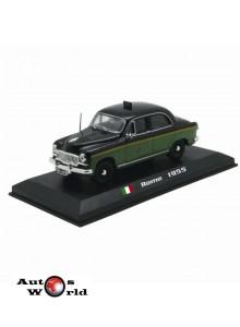 Taxiuri din lumea toata nr.17 - Fiat 1400 - Roma - 1955, 1:43 Amercom