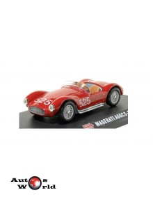 Macheta auto Maserati A6GCS #525 rosu 1954 Mille Miglia