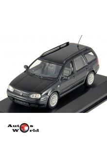 Macheta auto Volkswagen Golf Variant 1999 negru, 1:43 Minichamps