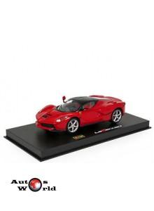 Ferrari LaFerrari rosu, 1:43 Bburago Signature