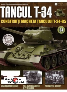 Colectia Tancul Т-34 Nr.64, 1:16 macheta kit de asamblat, Eaglemoss
