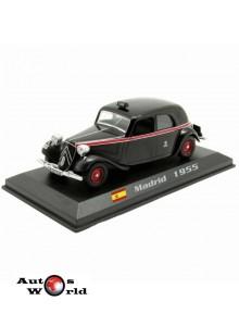 Taxiuri din lumea toata nr.29 - Citroen Traction Avant - Madrid 1955, 1:43 Amercom