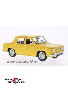 Macheta auto Renault R8 Gordini galben, 1:24 Welly
